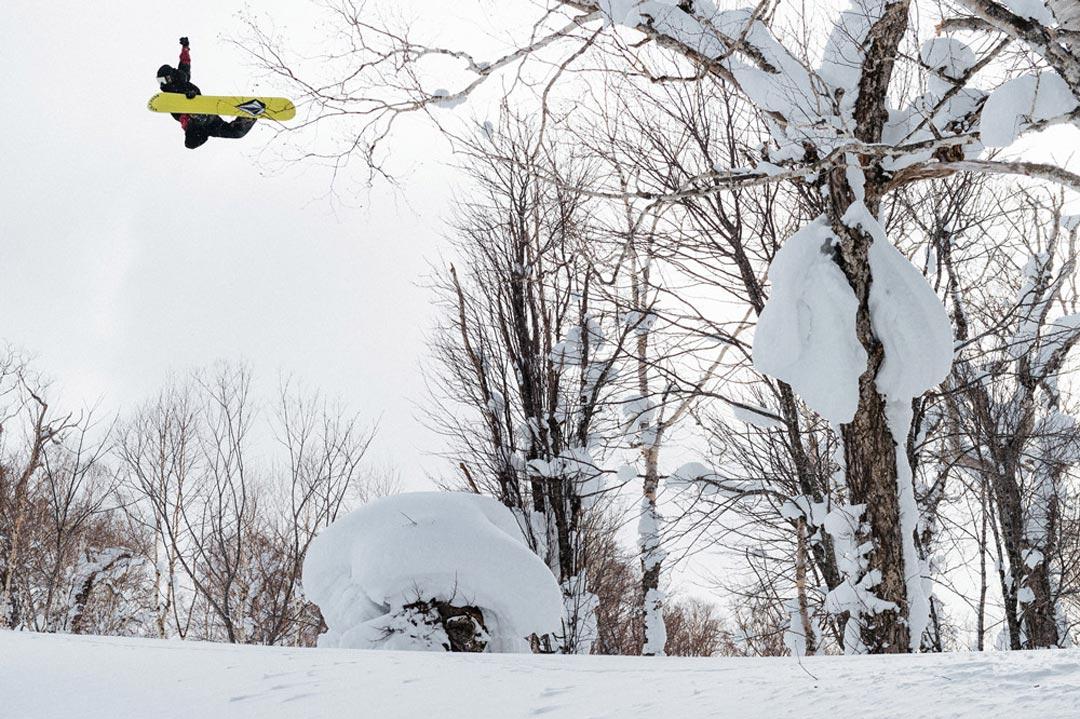 Pat Moore in Hokkaido |©Vans