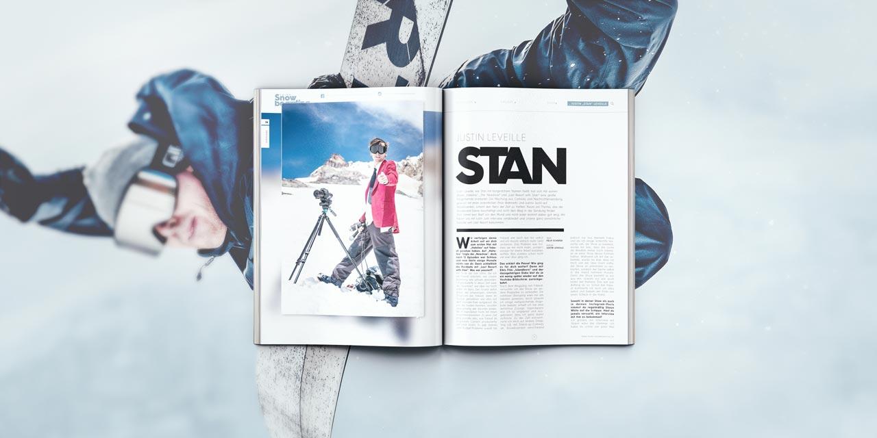 Der Mann mit dem roten Jacket: Stan