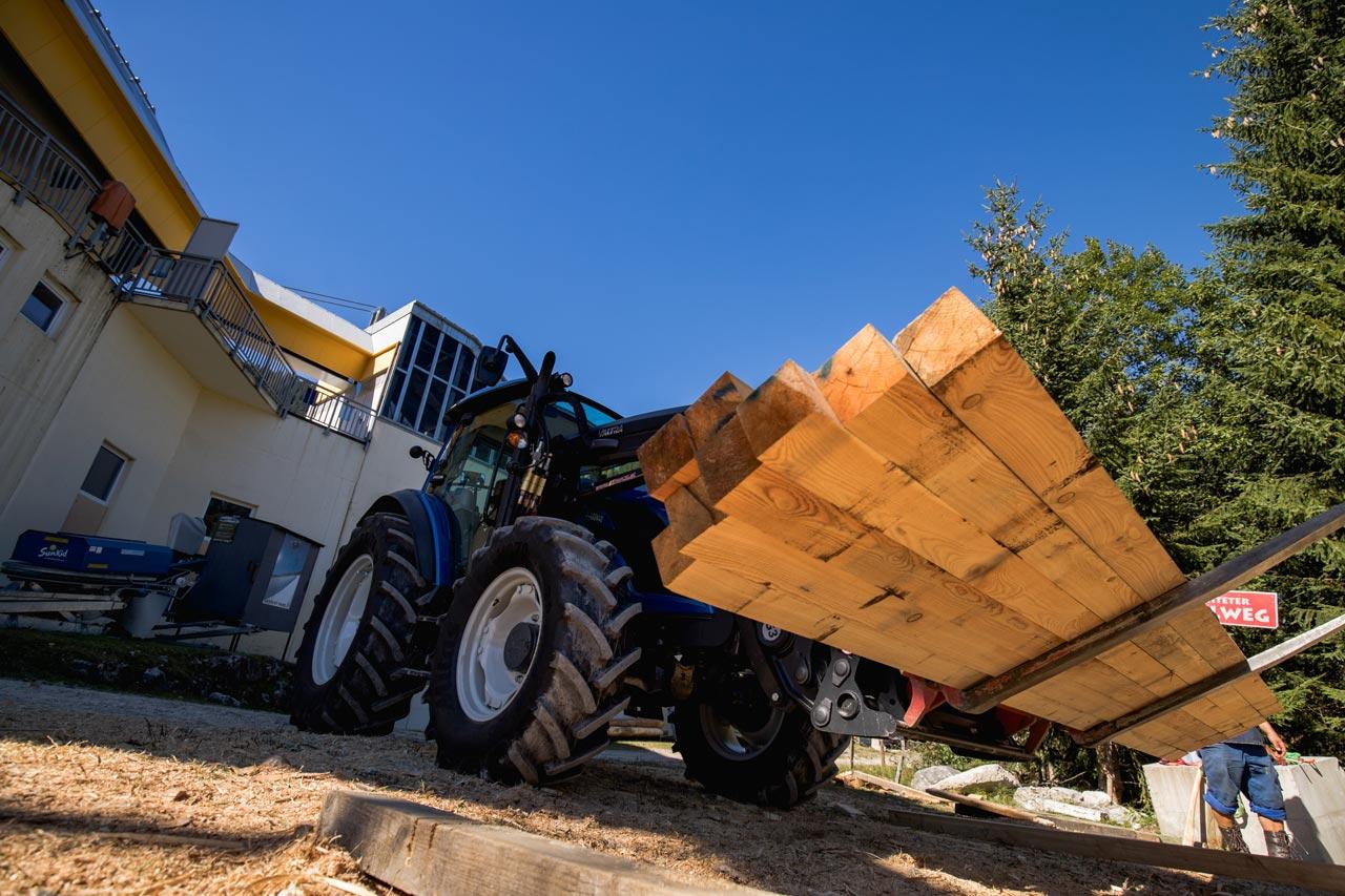 Ordentlich Holz vor der Hütte |© Deniz Janezic