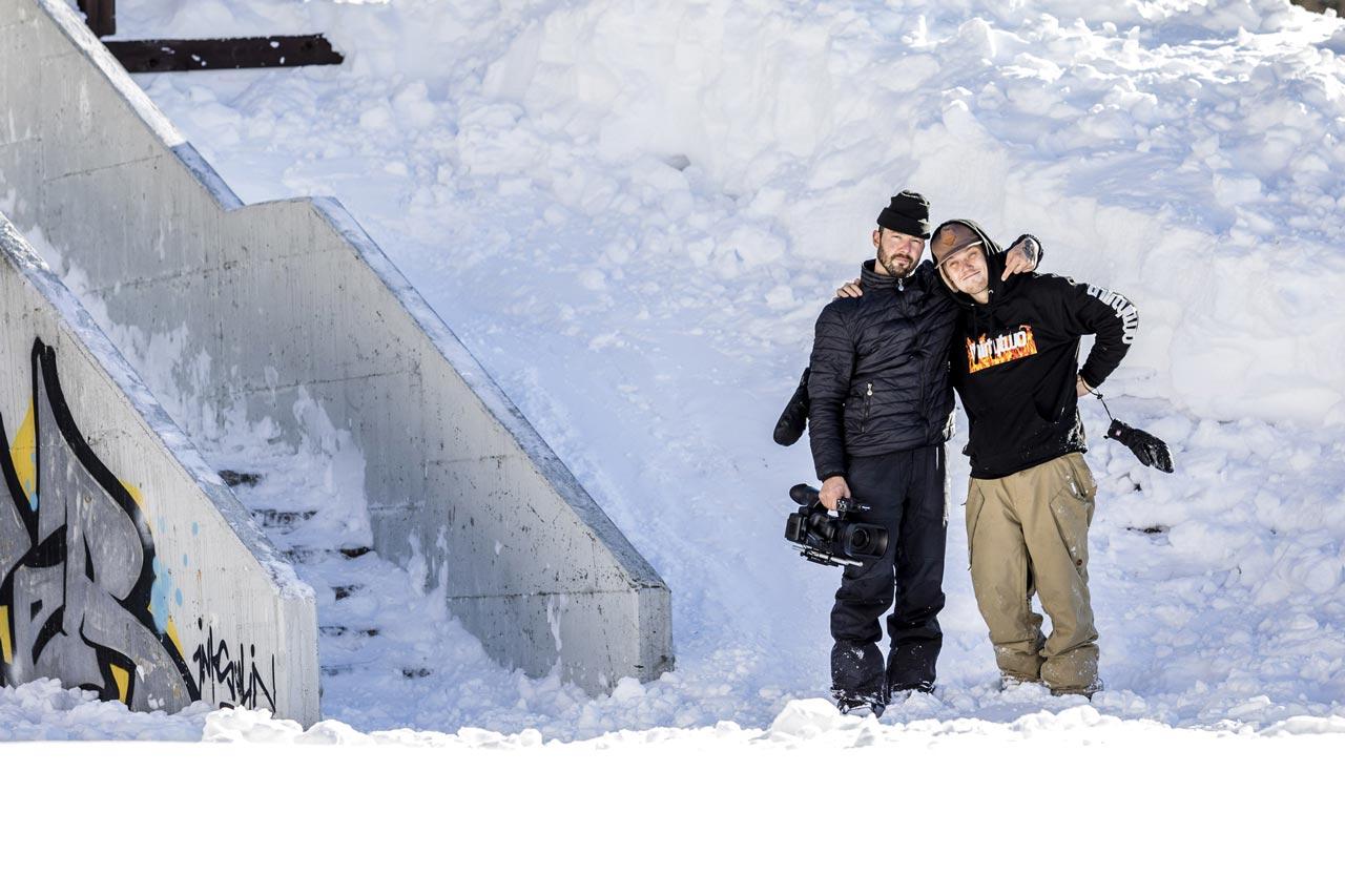 Marco Johnny Morandi und Toni Kerkela |©Roby Bragotto
