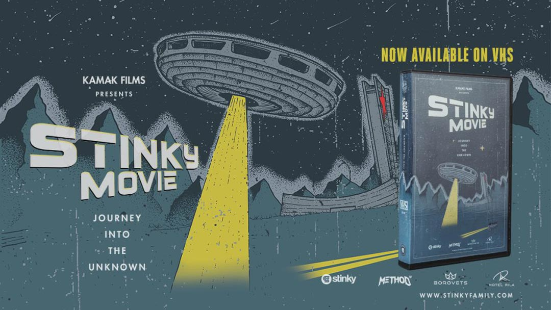 Stinky Socks veröffentlichen ihren ersten Movie auch auf VHS! |©Stinky Socks