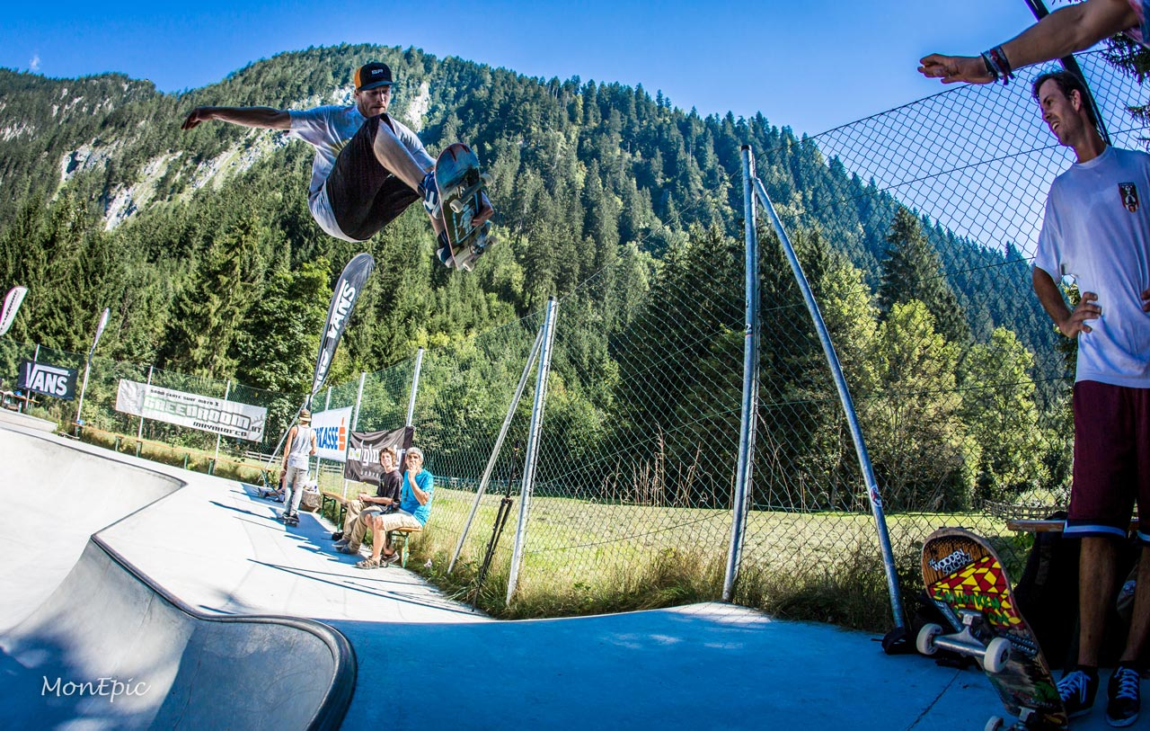 Steve beim Bowl Jam | © Andreas Monsberger