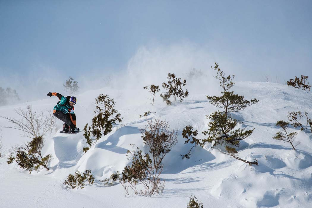 Travis Rice in seinem Element || © Freeride World Tour/J.Bernard