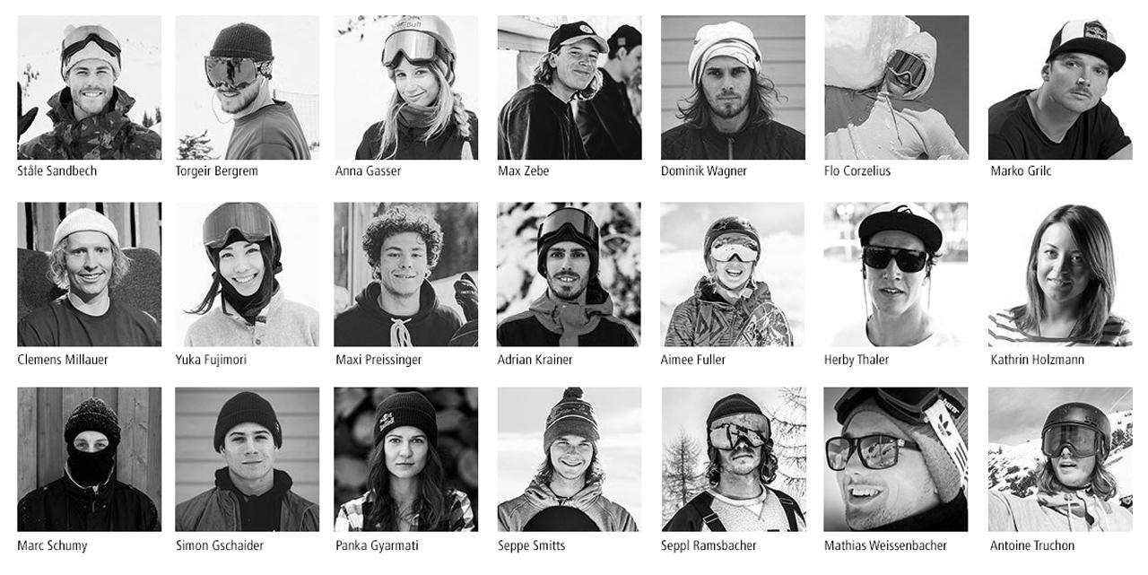 Das Absolut Park Snowboard Team |Absolut Park - Hot Spots der Alpen