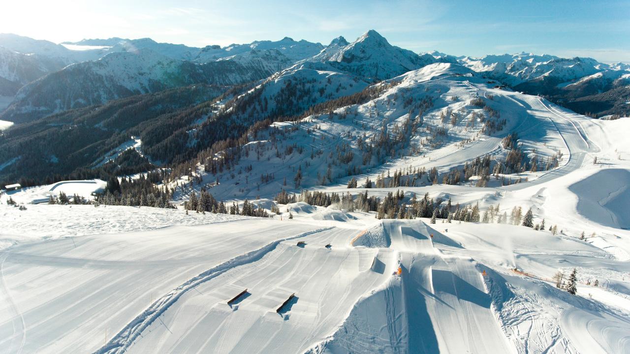 Die Kicker Line |Absolut Park - Hot Spots der Alpen