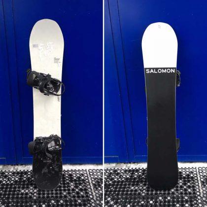 Salomon Snowboards: Super 8 163