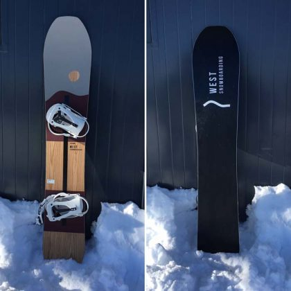 West Snowboarding: Six Carro 160 Wide