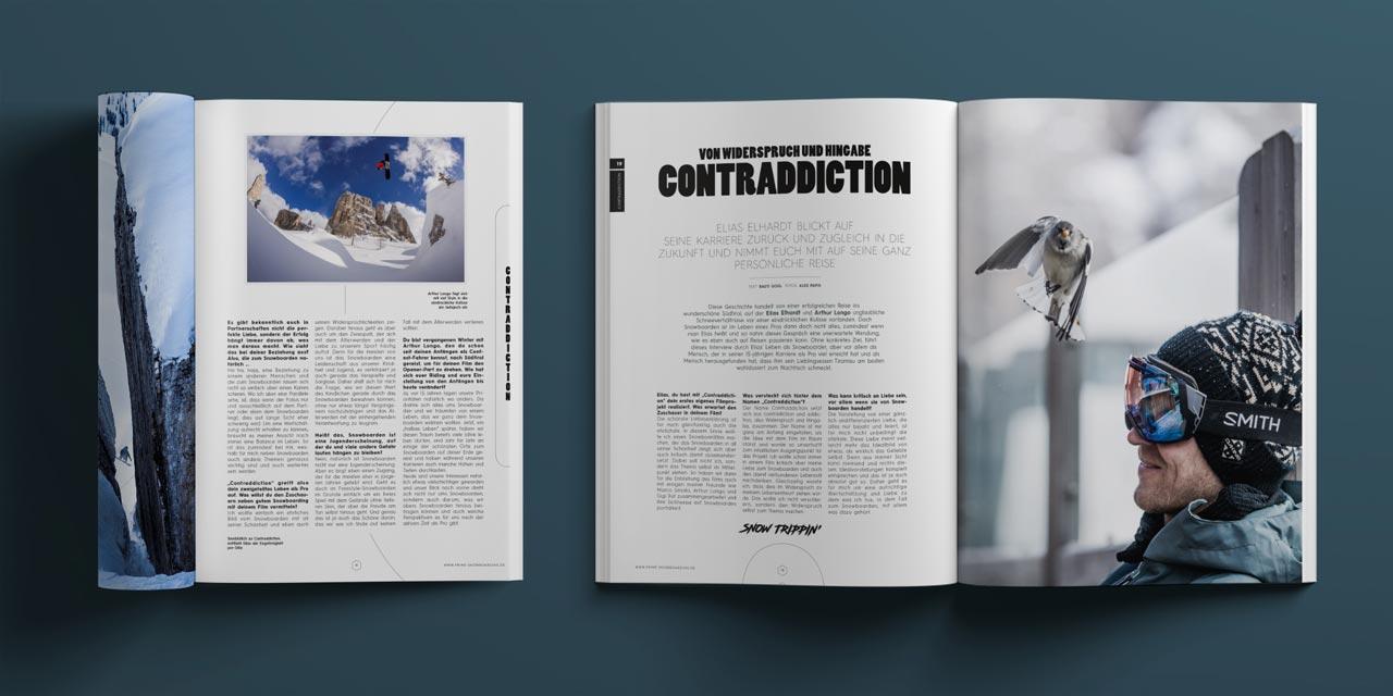 Prime Snowboarding Magazine #19: Elias Elhardt