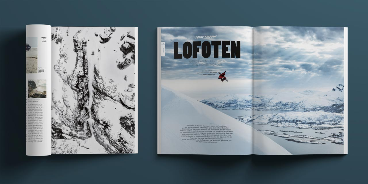 Prime Snowboarding Magazine #19: Das Nitro-Team im hohen Norden
