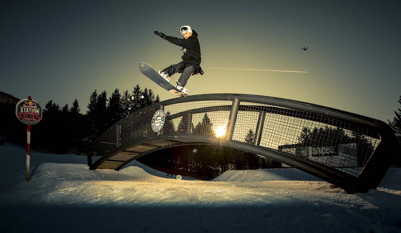Dylan Norder beim Station | © Red Bull Content Pool/Lorenz Holder