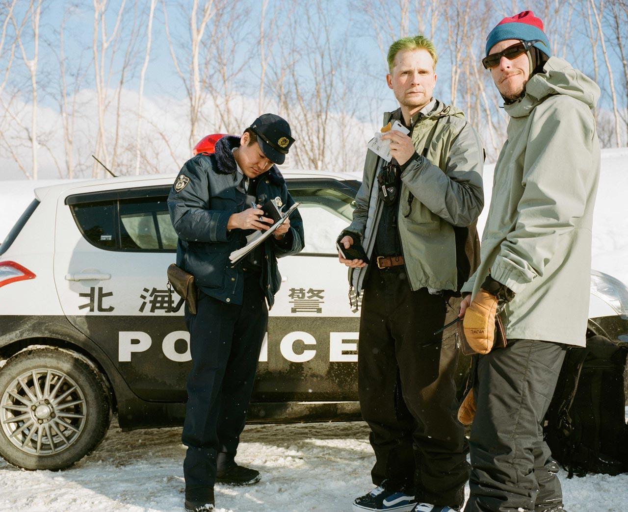 Die Cops in Japan lassen die Jungs nicht mit einer Warnung davonkommen |©Vans/Oli Gagnon