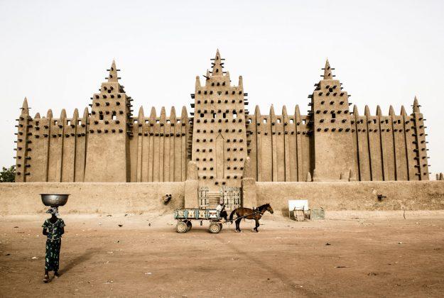 Moschee in Djenne, Mali |©Carlo Drechsel