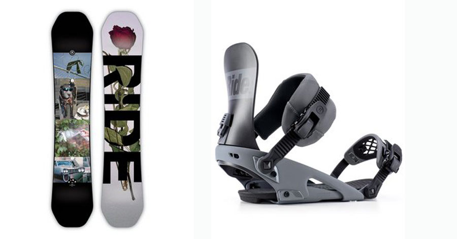 Board: Kink; Bindung: Rodeo | © Ride Snowboards