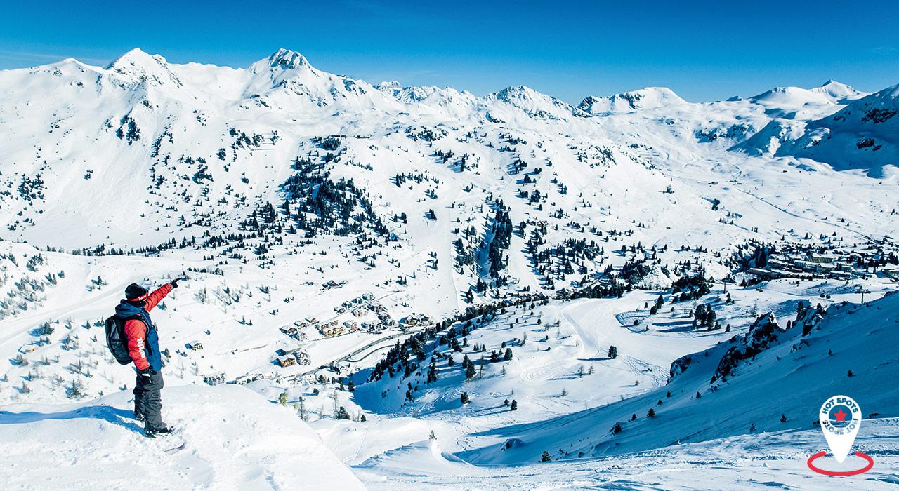 Die besten Powder-Spots |Skigebiet Obertauern
