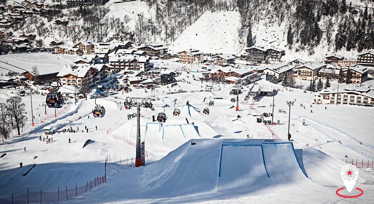 Der Snowpark U-Bahn in Hinterglemm macht auch bei Tag eine Menge Spaß! |©Skicircus