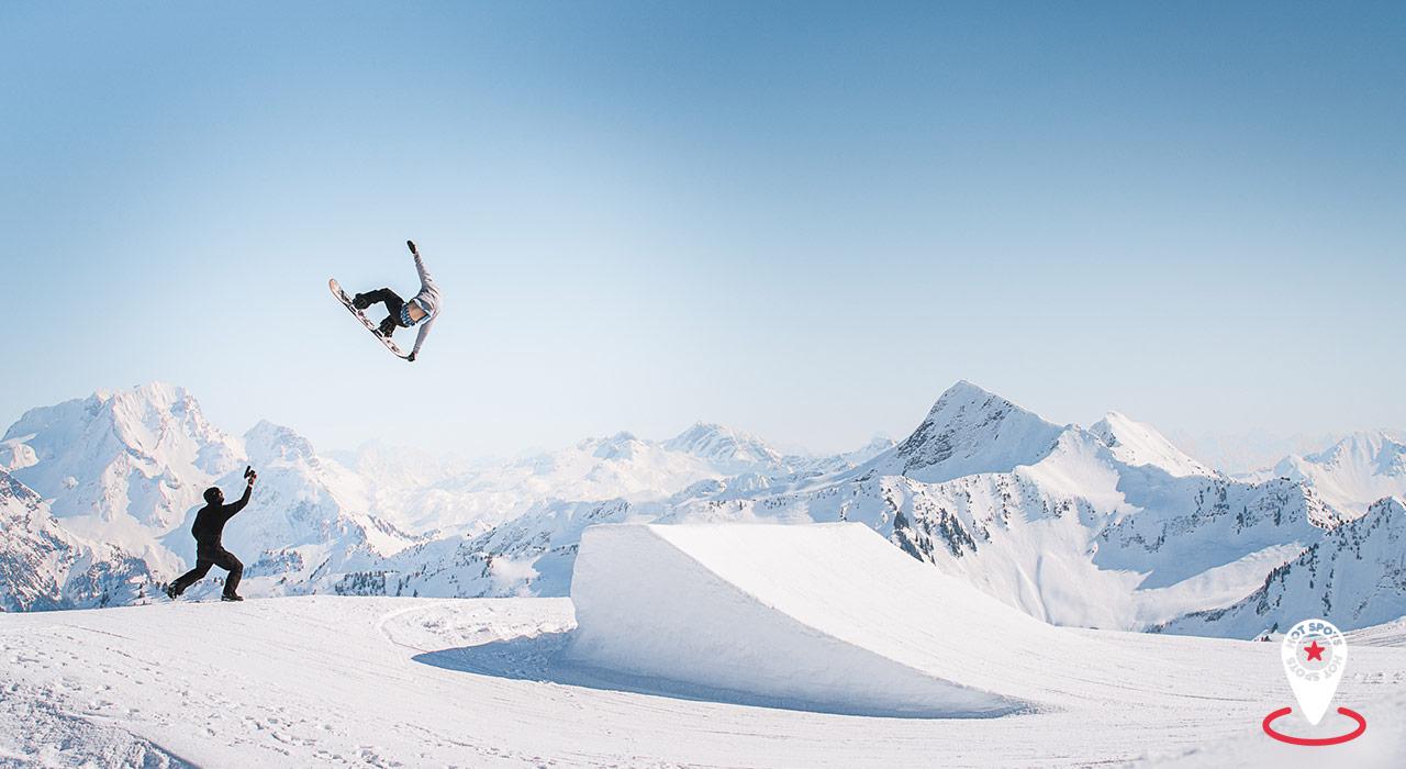 Die neue Pro-Kicker- Line am Ragaz lädt zu Ausflügen in den Vorarlberger Himmel vor spektakulärer Kulisse ein