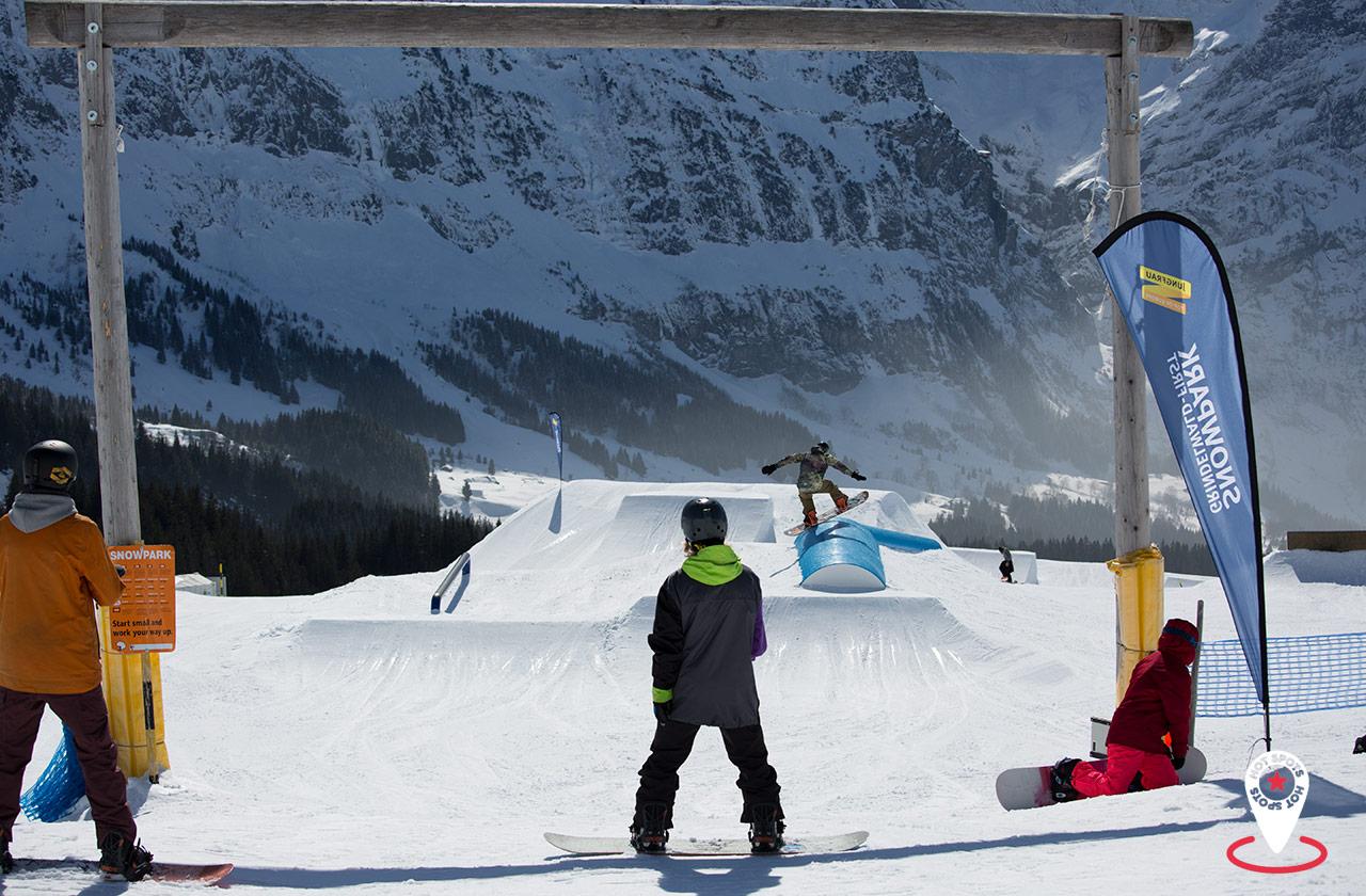 Snowpark Grindelwald