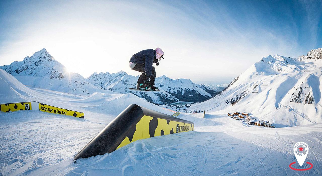 400 Hektar zum Freeriden und den KPark für Freestyle-Snowboarden jeglicher Spielart machen Kühtai zum echten Hot Spot  ©GOT IT!