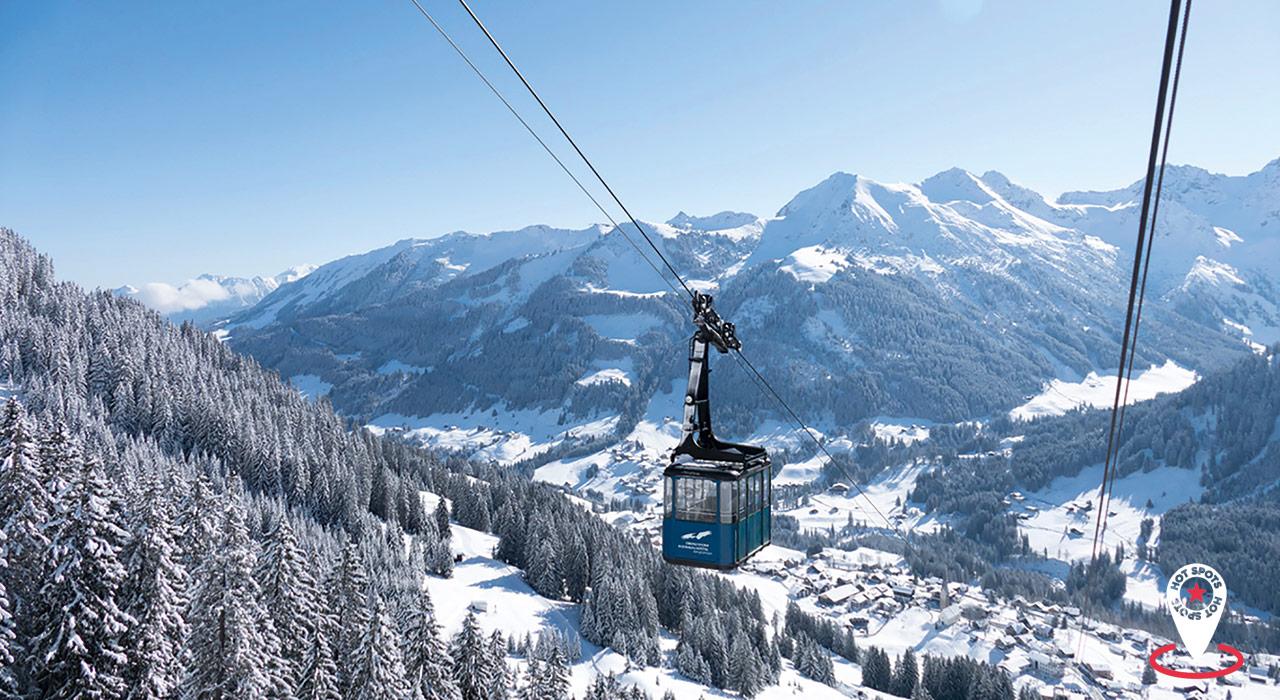 Das Walmendingerhorn bietet alles, was das Snowboard-Herz begehrt: Tiefschneehänge und abwechs- lungsreiche Pisten an jeder Ecke |©Oberstdorf/Kleinwalsertal