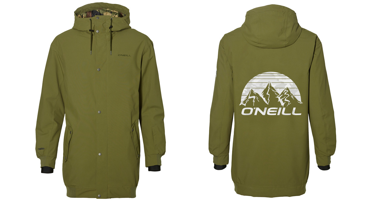 O'Neill Hybrid Decode Jacket, Winter Moss