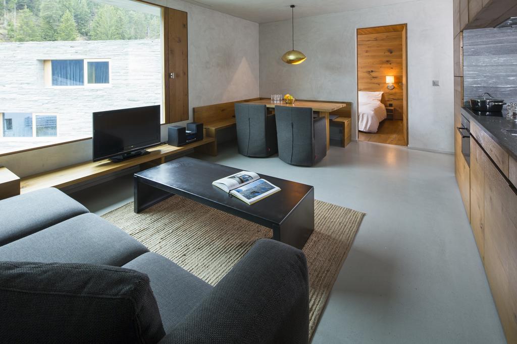 Laax Rocksresort Livingroom