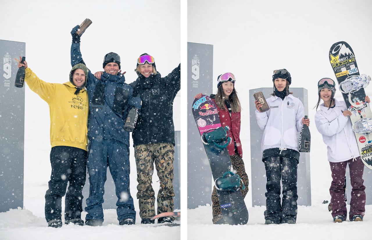 von links: Sven Thorgren, Mons Røisland, Clemens Millauer, Miyabi Onitsuka, Yuka Fujimori, Reira Iwabuchi |©Klaus Polzer