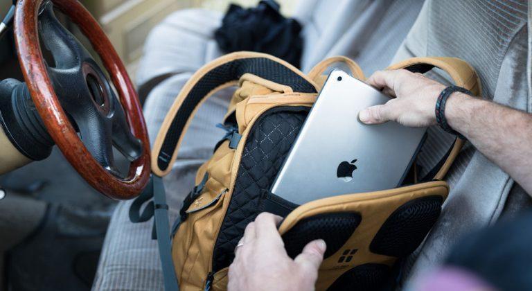 Evoc Mission Pro Review - Platz für einen 15 Zoll Laptop |©Evoc/Baschi Bender
