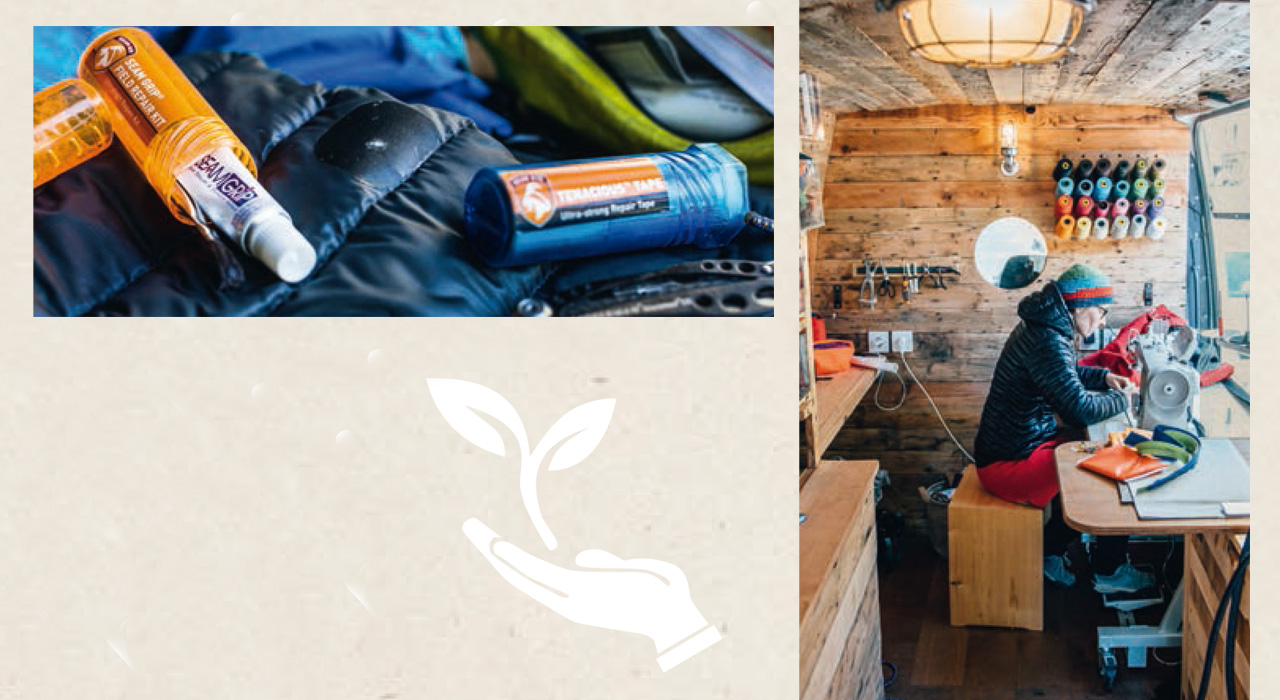 Patagonia setzt auf Nachhaltigkeit. Eine der wichtigsten Botschaften der Worn Wear Tour im vergangenen Jahr war, dass wir Konsumenten doch lieber unsere Klamotten reparieren sollten, anstatt ständig neue Kleidung zu kaufen. Die Worn Wear Tour ging auch quer durch Europa |©Patagonia