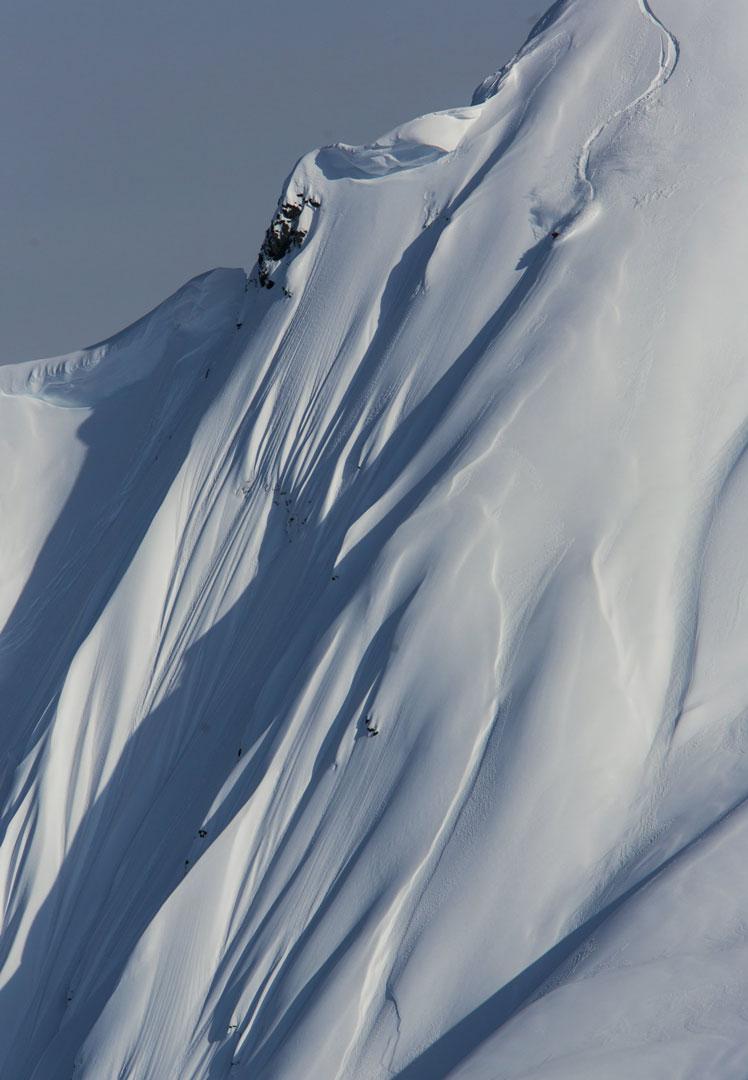 Xavier unterwegs in Svalbard |©Tero Repo/Red Bull Content Pool