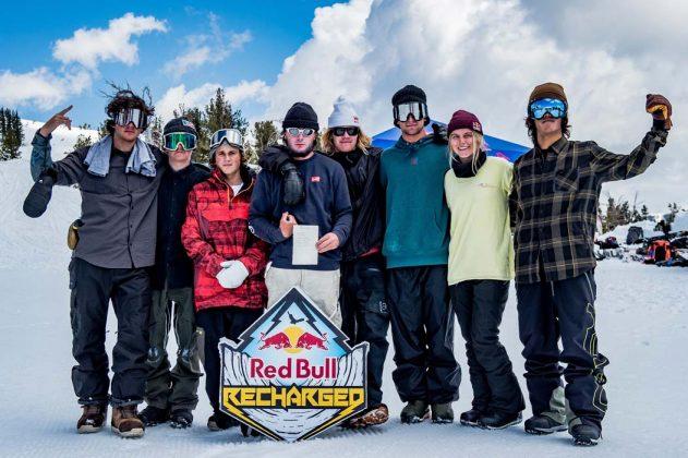 Team Crouch: Luke Winkelmann, Red Gerard, Judd Henkes, Malachi Gerard, Brock Crouch, Nik Baden, Maddie Mastro, Yuki Kadono |©Tom Monterosso/Red Bull Content Pool
