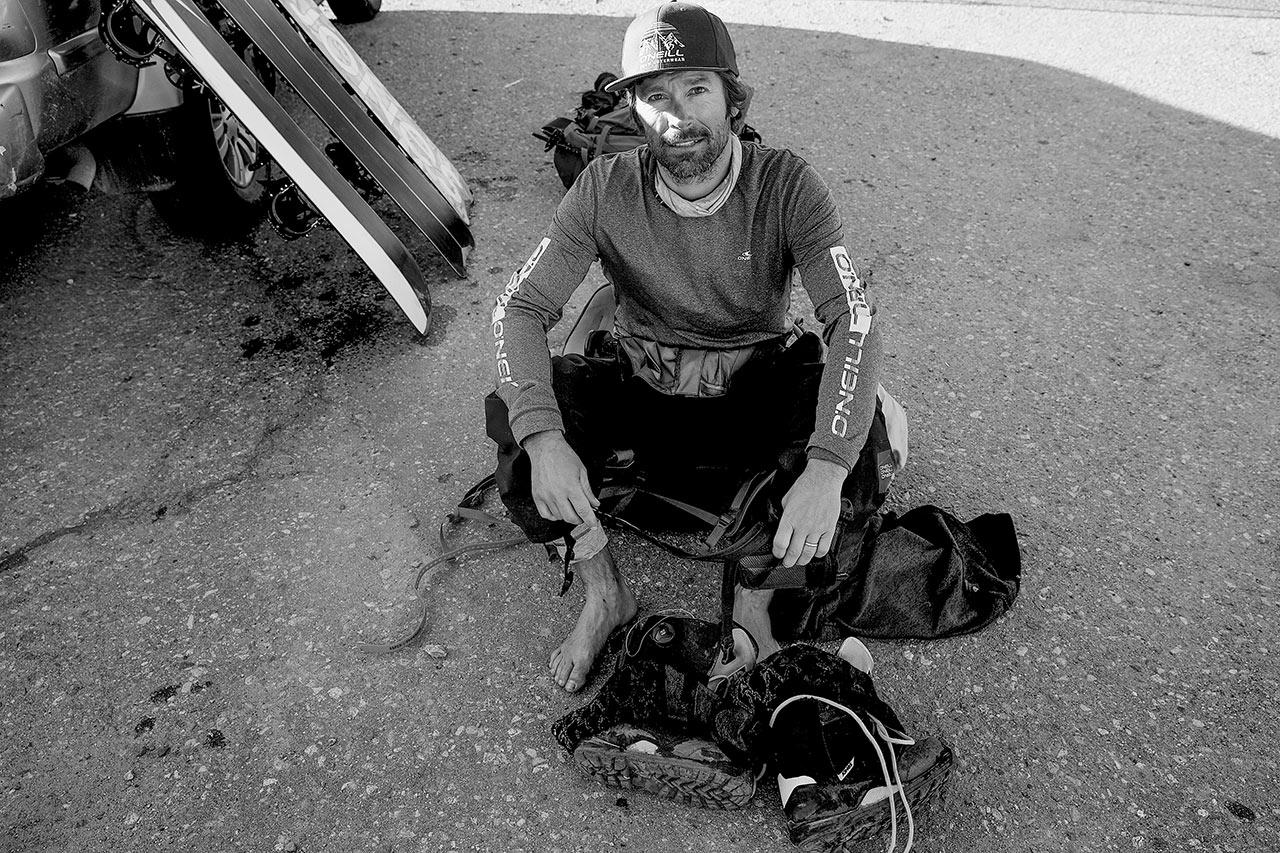 Jeremy ist ist eine Inspiration für alle, die Snowboarden, die Berge, den Winter und den Schnee lieben |©Andrew Miller