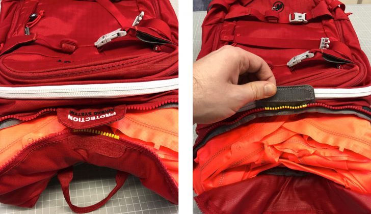 Mammut Protection Airbag System (PAS) © Mammut