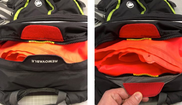 Mammut Removable Airbag System | © Mammut