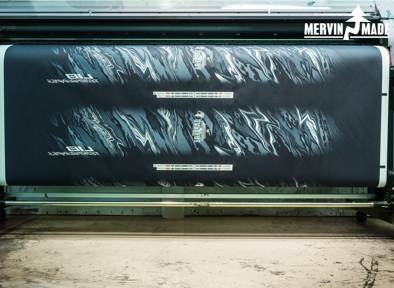 Mervins Drucktechnik ist einzigartig und produziert keinen giftigen Sondermüll |©Mervin