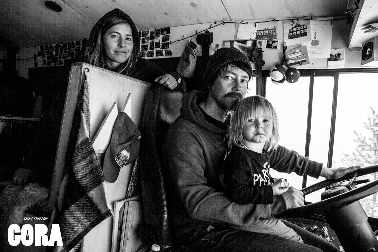 Val, Tim und die kleine Fenna |©Picture Organic Clothing/Louis Garnier