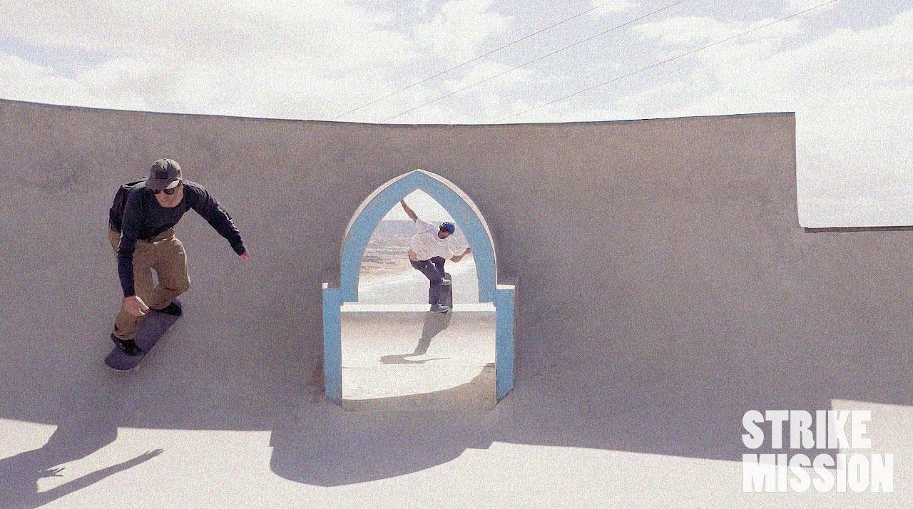 Kaum haben die Jungs den Winter im Zillertal hinter sich gelassen, gönnen sie sich im fernen Marokko eine Skate-Session