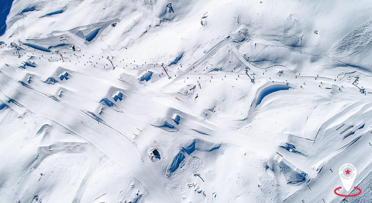 Corvatsch Park | Die besten Snowparks der Alpen