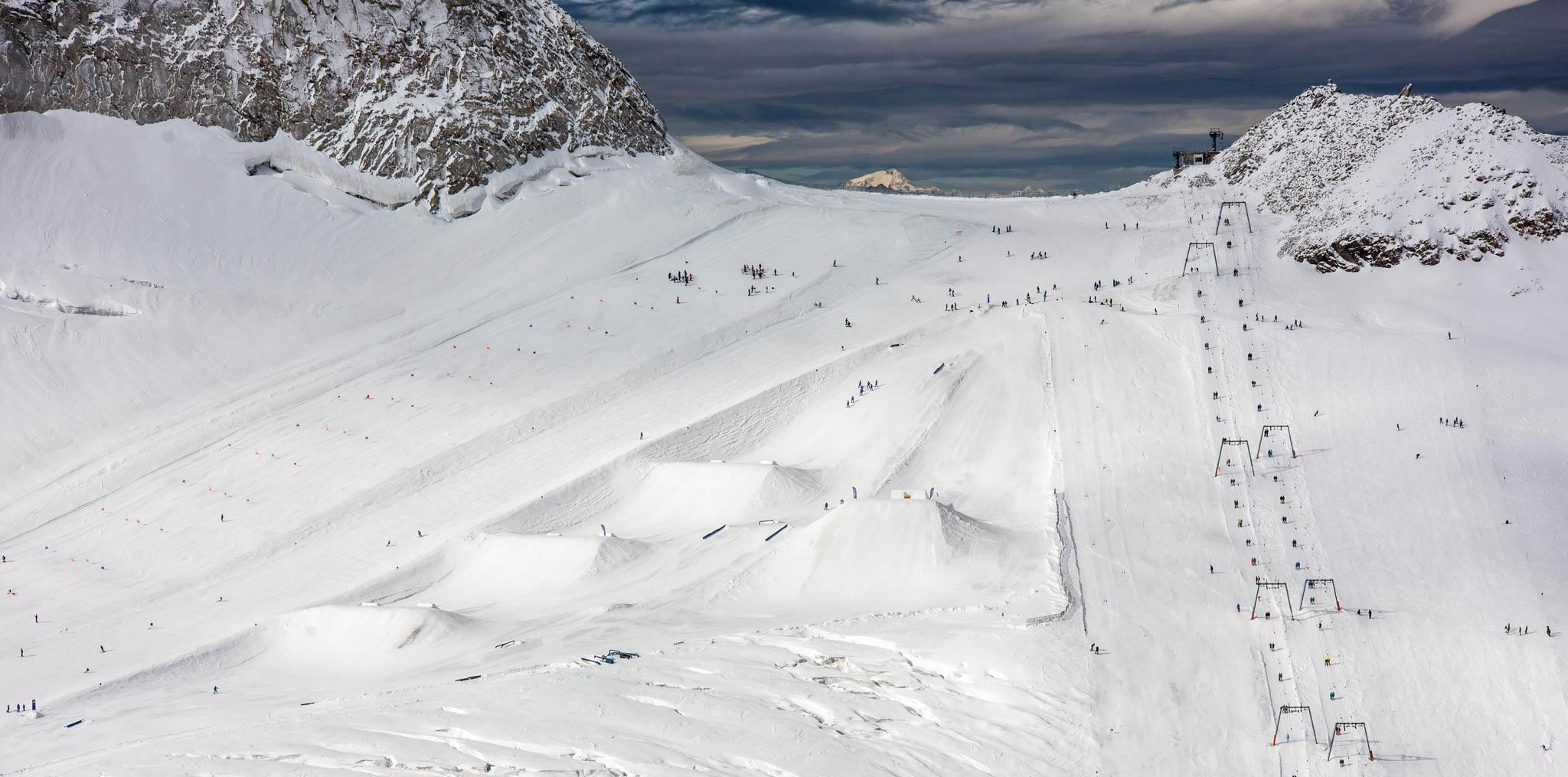 Der betterpark Hintertux im Überblick - Foto: MonEpic