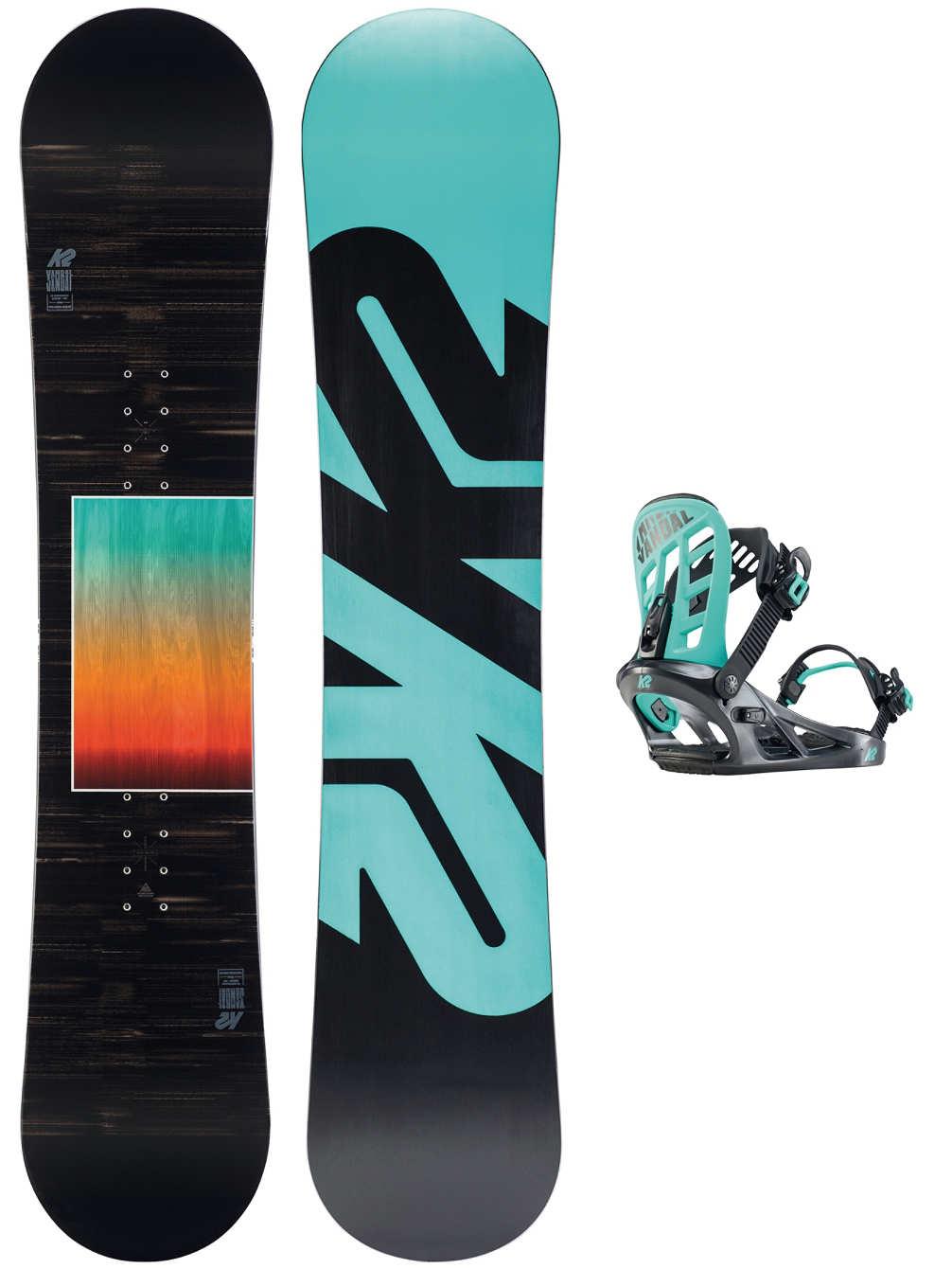 K2 Snowboard Set Vandal