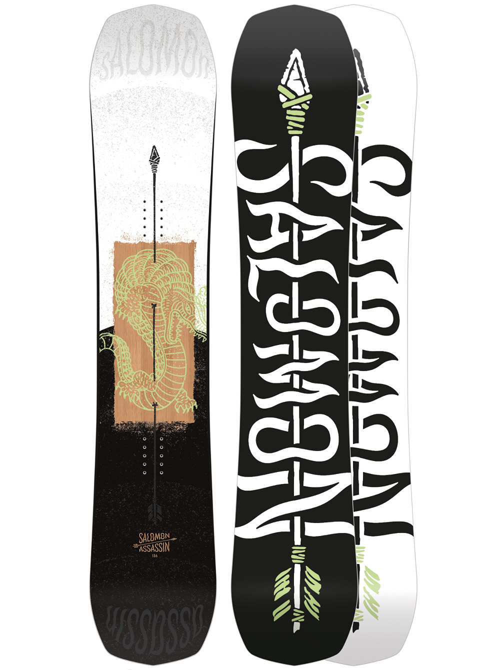 Top Snowboards Salomon Assassin 2020
