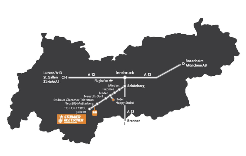 Gletscher Openings 2019 - Anreise Stubaier Gletscher