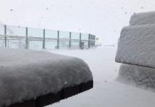 Schneefall Hintertux