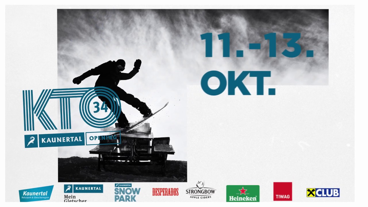 Kaunertal Opening 2019 – Place to be!