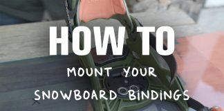 Snowboard Bindung richtig montieren