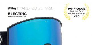 Electric Goggles 2019/2020 Brand Guide Aufmacher