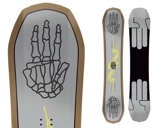 Evil Twin Bataleon Snowboards