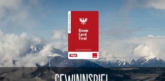 Snow Card Tirol Gewinnspiel für den Winter 2019/2020