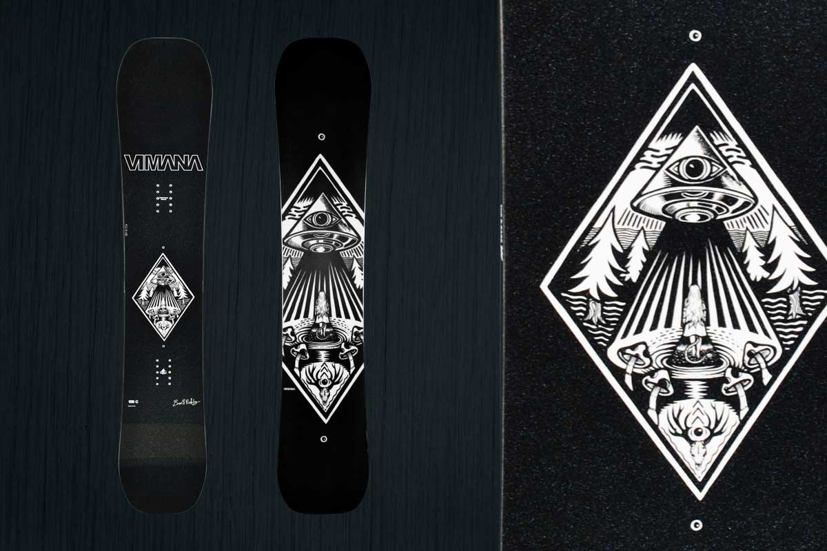 B-Rage | Vimana Snowboards 2019/ 2020