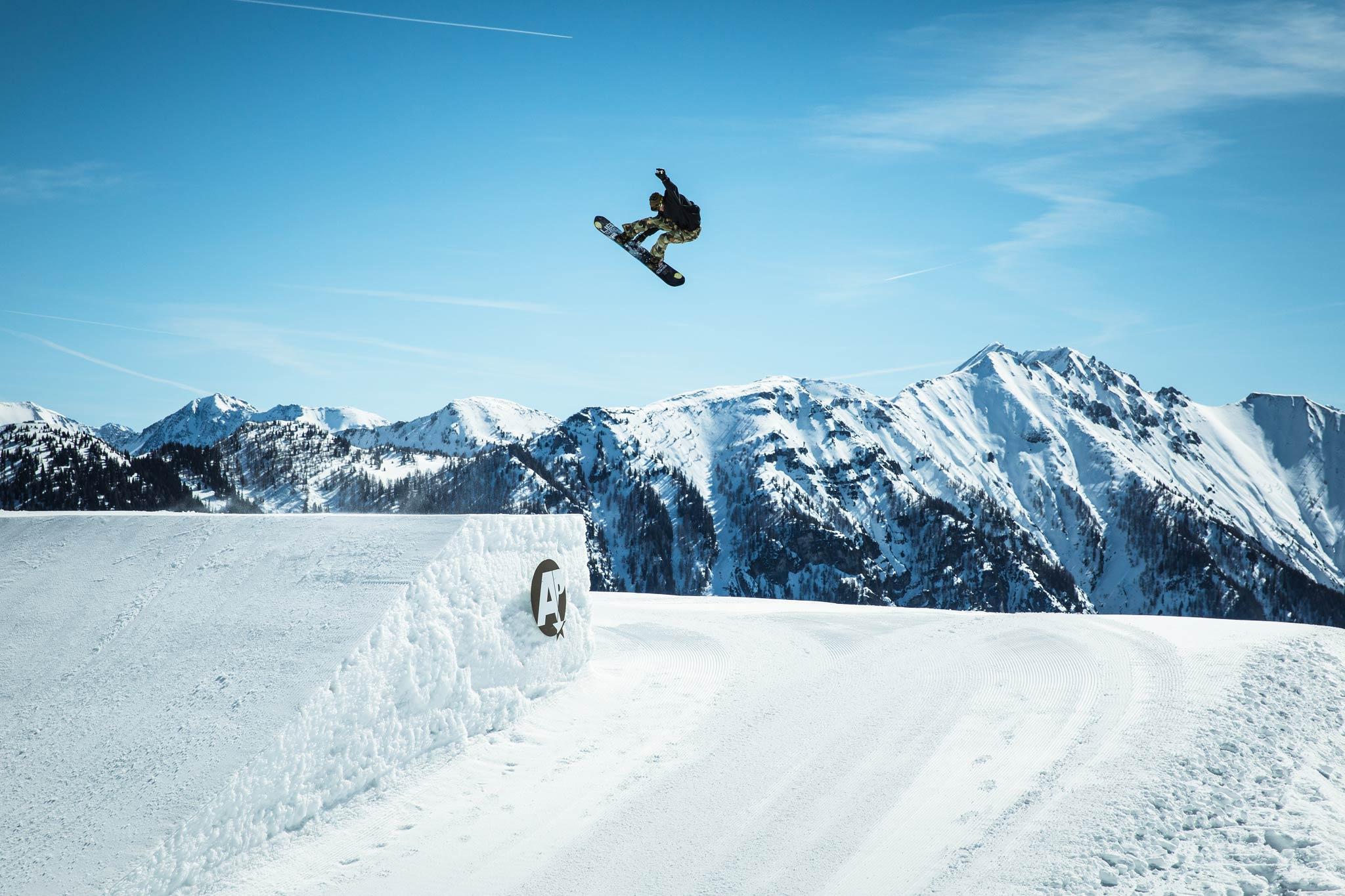 Absolut Park Flachauwinkl | Die besten Snowparks der Alpen