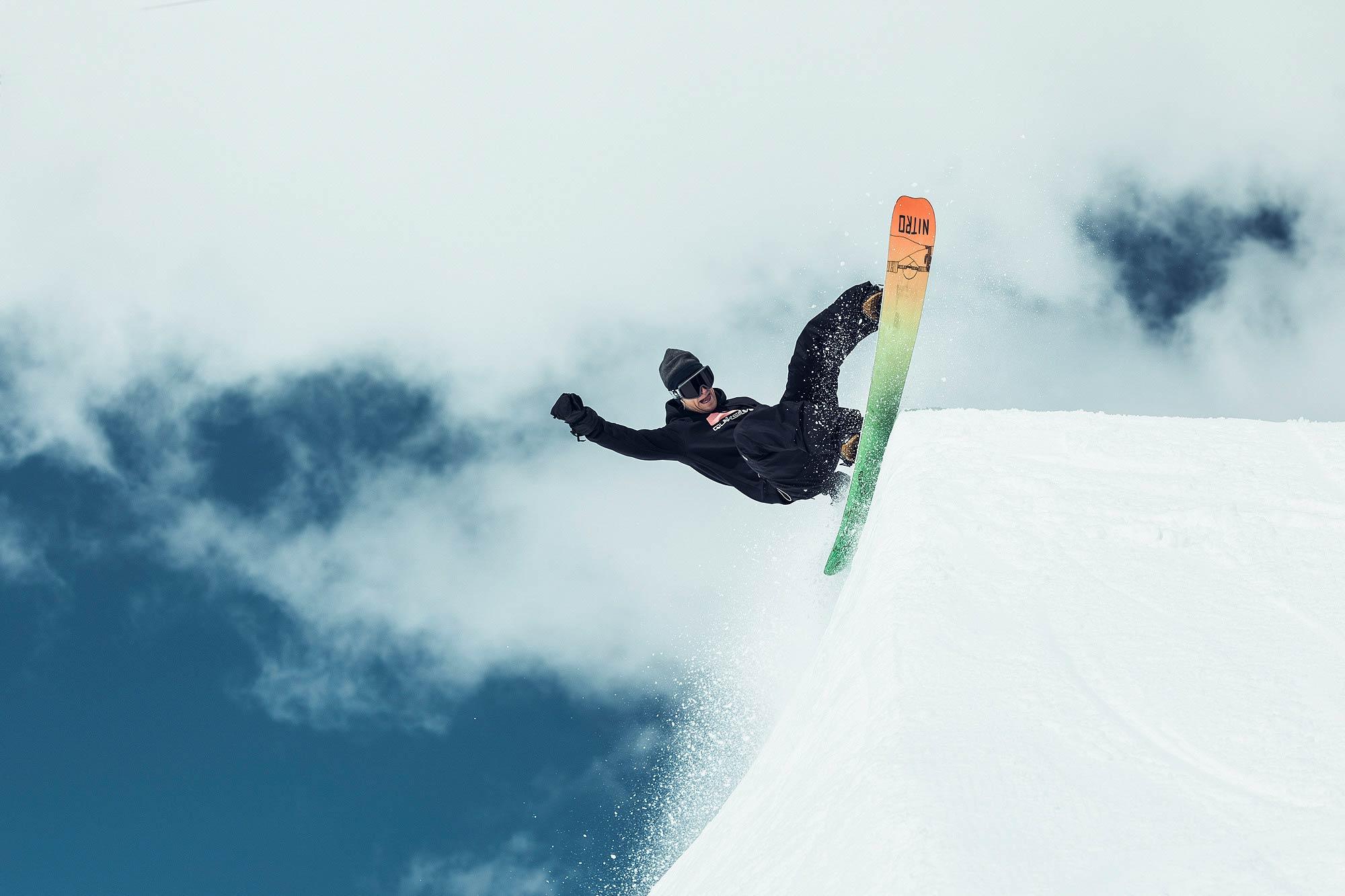 Nitro stellt Griffin Siebert´s erstes Pro Model Snowboard vor